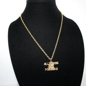 """Vintagejelyfish Jewelry - Nwot All things are possible gold necklace 20"""""""